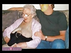 Granny sex tube - mature group sex